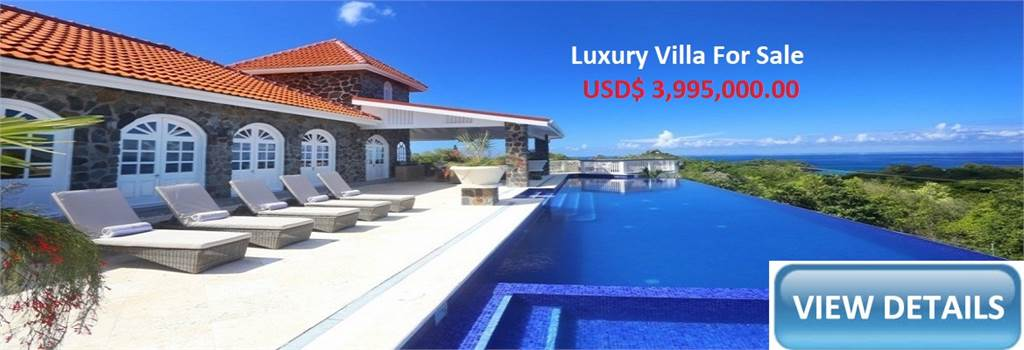Villa for sale at Cap Estate - Villa Atlantis